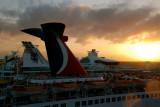 Nassau Cruise Port Sunset
