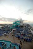 Lido Deck at Sunset