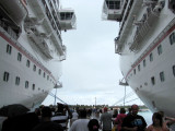 Duling Carnival Cruise Ships at Grand Turk
