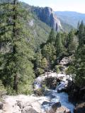 Road to Yosemite Valley