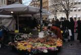 Flower sales at Kultorvet