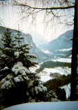 View from Lower Obersalzberg 1980