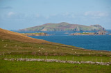 View of Blasket Islands from Dingle Peninsula Slea Head Drive