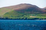 View of Blasket Islands Abandoned Settlement