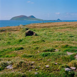 View of Blasket Islands from Dingle Peninsula