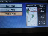 Map layout setup screen, WIDE map