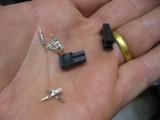 Mini Molex 2 pin connectors