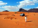 Colors of the Arabian desert.