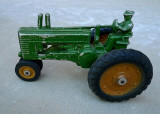 OLD TOY - A TOY TRACTOR, GIVEN TO ME BY MY GRANDFATHER IN 1950