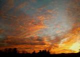 A WESTERN NORTH CAROLINA SUNSET