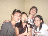 me and satomi, yosuke, emi