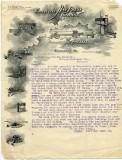 A 1902 letter from the Kansas City Hay Press company