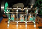 (15)      Dave Palmer's really pristine 3 cylinder steam Coventry