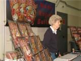 (63)   Toni Rehmus staffing the Model Engine Builder magazine exhibit