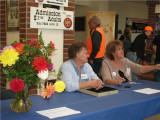 (70)   Kathy Petty and Sharon Hart  selling tickets