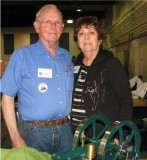 (71)   exhibitors Tom and Eunice Armstrong