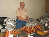 (73)   Bill Bartram always has several unusual models on display
