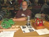 (77)    George Christensen and his neat John Deere