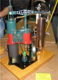 (111)   Orrin's  Bremmen  Caloric Beam hot air engine