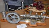 (75)   Ron Bickler's  beautiful  Snow Tandem Engine