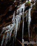 Icicles along Hwy. 441 in Park
