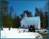 Methodist Church and Cemetery in Cades Cove