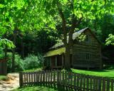 Tipton Place on the Cades Cove Loop Road.