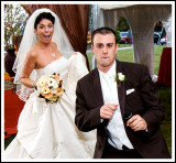 Making an Entrance Statement at the Poconos Wedding