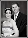 Robyn & Drew Black & White Portrait