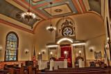 Dunmore Synagogue Interior