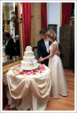 Cutting the Cake Tradition - The Classic Pose