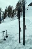 Ski alpin SPORTEN Carspo utilisés en rando nordique