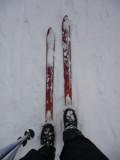 Fisher Snowbound 179 cm (pour la neige profonde et terrain accidenté)