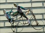 Vélo-volant.
