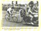 Record de vitesse - José Meiffret.