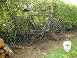 très vieux vélo pour homme