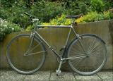 Randonneur Motobecane transformé en singlespeed (et qui a fini en pignon fixe, un de mes vélo préféré !)