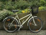 L'ancien vélo de Madame (VTT Lugano, acier)