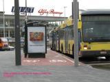 Vélo ou arrêt de bus, il faut choisir.