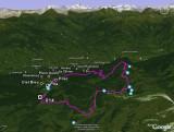 Ski de randonnée nordique autour de l'Alpe Chamolé, à Pila (Aosta, Italia, 2008)