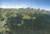 Raquettes à neige vers la Pointe de la Pierre (de Pila à l'Alpe Champchenille (Aosta, Italia, 2008)
