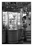 Woman, cuddly toys, Yokohama