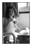 Jessica, Onjuku, September 2009 (yet another ice cream photo)