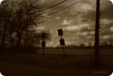 Winter Crossroad