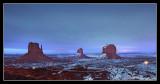 Monument Valley at Nightfall