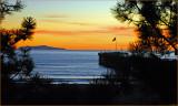 Anacapa Island at Sunset