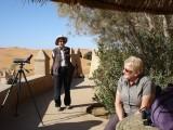 Caffe in the desert