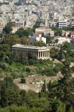 Temple of Hephestus from Acropolis