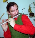 Michael Tveroy's home made flute