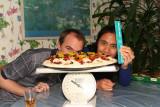 The Giant 7 1/2 Pound Pizza